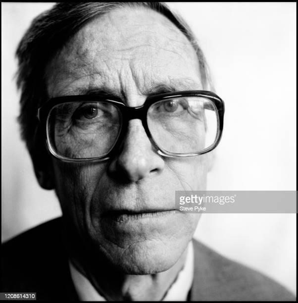 American moral and political philosopher John Rawls Harvard University Cambridge Massachusetts 1990