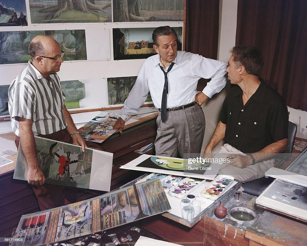 Walt Disney At Work : ニュース写真
