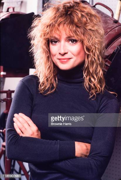 American MTV VJ Nina Blackwood New York New York 1981