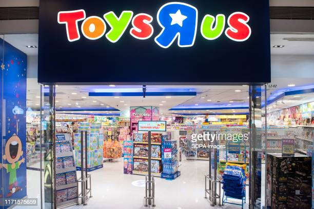 American multinational toy chain Toys 'R' Us store seen in Hong Kong.