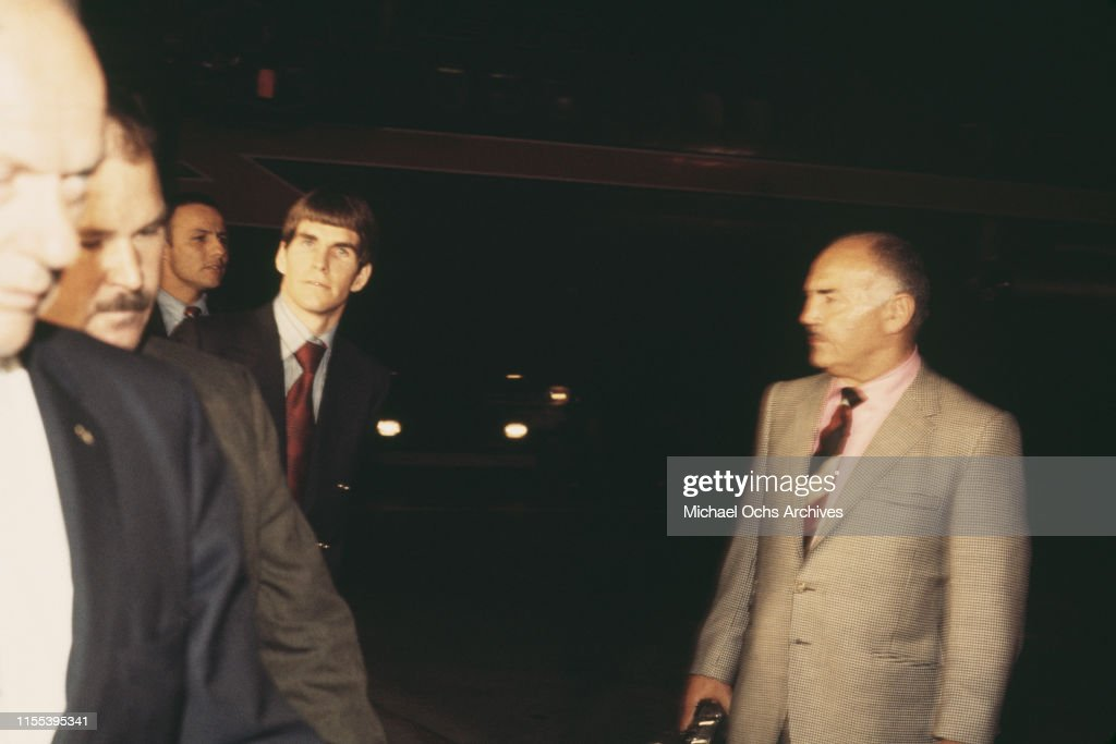 Tex Watson arrives at LAX : News Photo