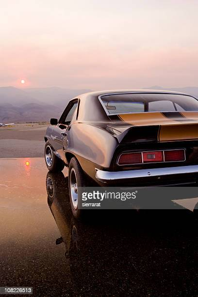 american muscle car - hot rod car stock photos and pictures