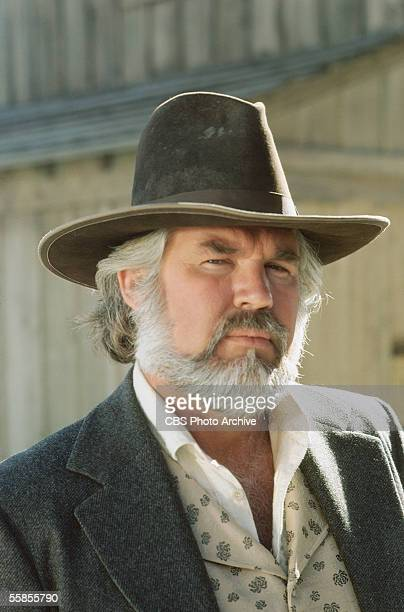 American musician and actor Kenny Rogers in a publicity photo for the CBS television movie 'The Gambler' directed by Dick Lowry California 1980