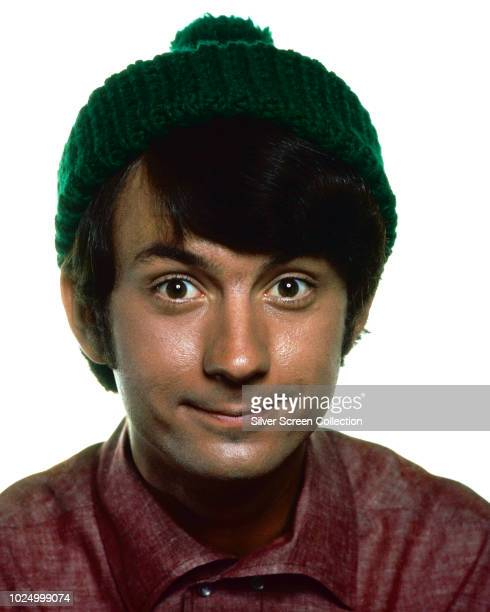 American musician and actor Michael Nesmith of pop band The Monkees in a publicity still for the television series 'The Monkees' circa 1967