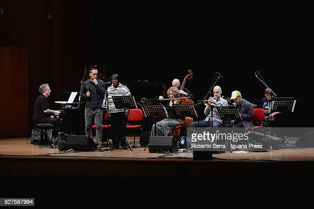 American musician and author Uri Caine performs with his Ensamble Theo Bleckmann Barbara Walker Joyce Hammann Mark Helias Ralph Alessi Chris Speed...