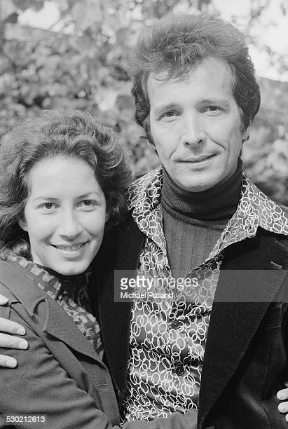 American musician and bandleader Herb Alpert with his wife singer Lani Hall in Paris during his European Tour with the TJB a new linup of the Tijuana...