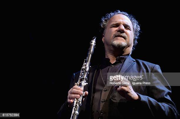 American musician and composer David Krakauer performs with his Krakauer's Ancestral Groove for Bologna Modern Festival for Contemporary Music at...