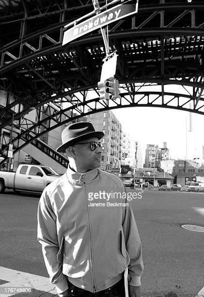 American musician and DJ Milo Johnson Harlem New York 17th January 2013