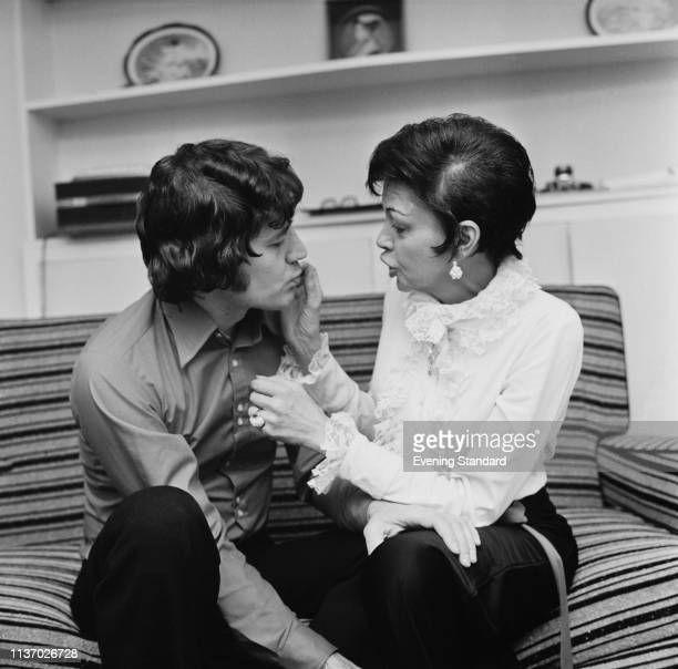 American musician and entrepreneur Mickey Deans and American actress singer dancer and vaudevillian Judy Garland on the day before their wedding UK...