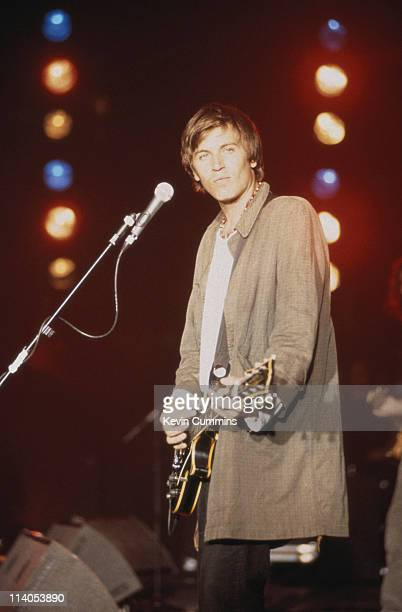 American musician and singer Evan Dando in concert with The Lemonheads circa 1994