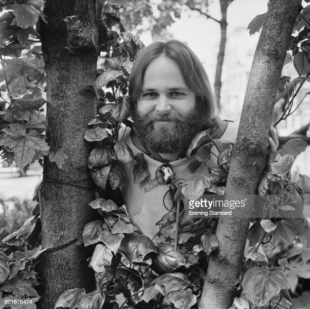 American musician and singer-songwriter Carl Wilson of the rock group Beach Boys, 24th June 1977.