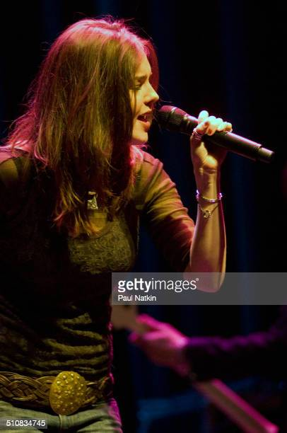 American musician Anna Nalick performs onstage at the Park West Auditorium Chicago Illinois March 21 2006