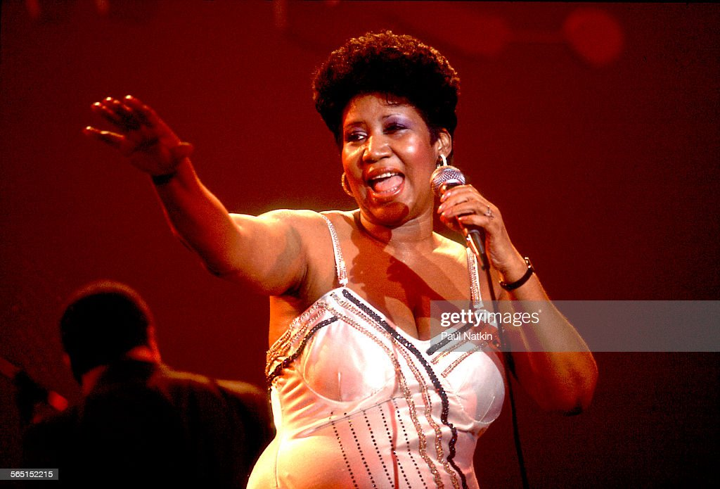 Aretha Franklin At Park West : News Photo