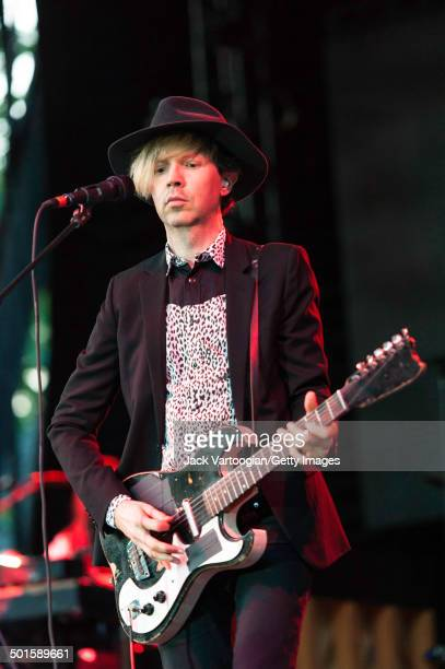 American musician Beck headlines a benefit concert for and at Central Park SummerStage New York New York July 1 2014