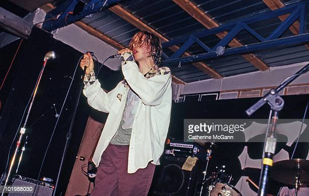 American musician Beck performs at South by Southwest Music Festival in March 1994 in Austin TX