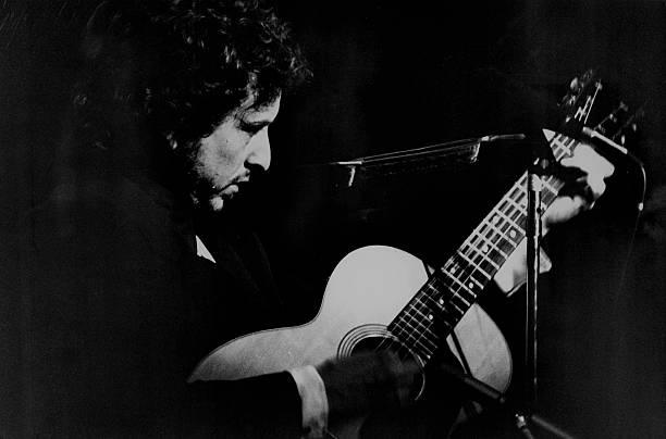 Bob Dylan At Madision Square Garden Wall Art