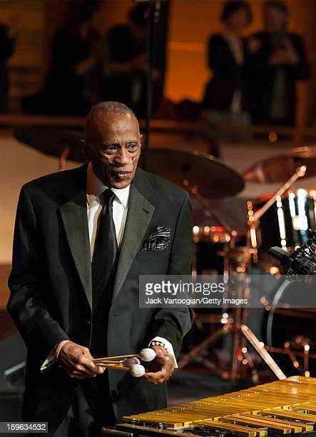 American musician Bobby Hutcherson plays vibraphone at the NEA Jazz Masters Awards Ceremony and Concert Jazz at Lincoln Center's Rose Theater New...