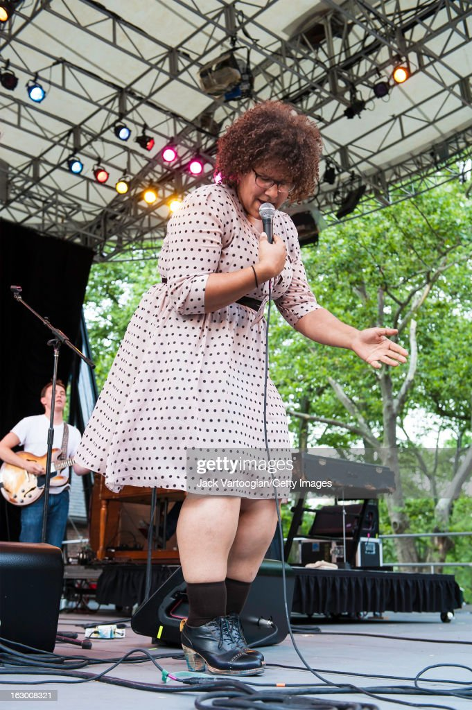 Alabama Shakes At Central Park SummerStage : News Photo