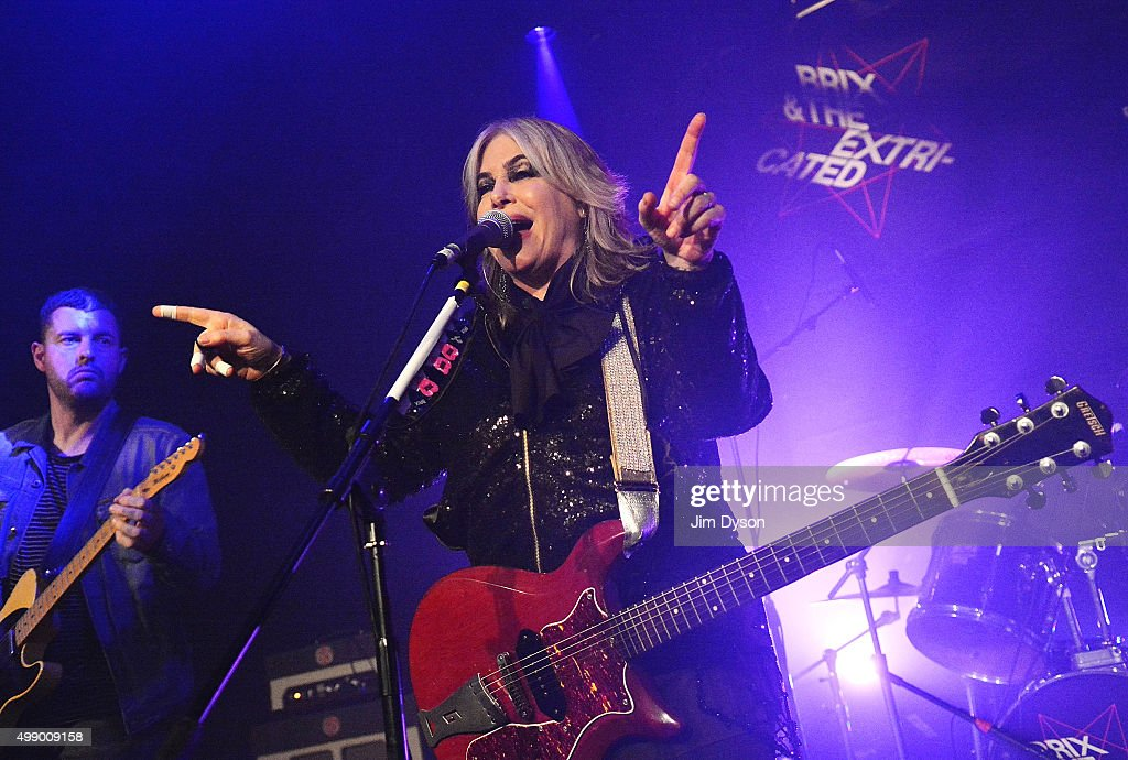 Brix Smith And The Extricated Perform At ICA In London : News Photo