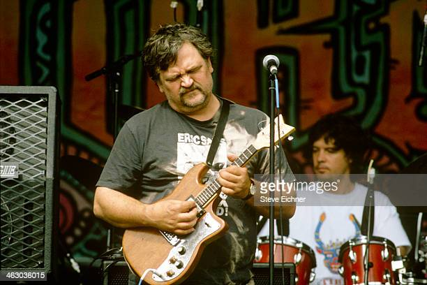 American musician 'Colonel' Bruce Hampton of the Aquarium Rescue Unit performs at the HORDE Festival Syracuse New York July 10 1992 HORDE an...