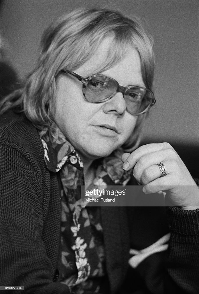 American musician, composer, actor and songwriter Paul Williams, London, 30th May 1973.