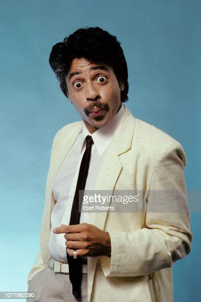 American musician composer and actor Morris Day portrait in New York City on March 22 1983