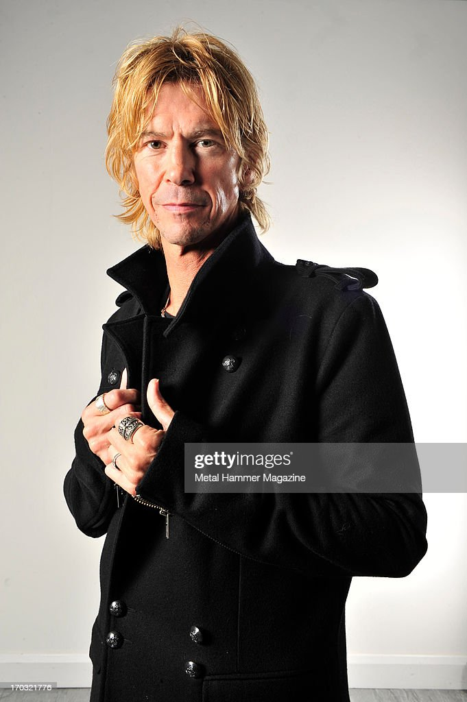 American musician Duff McKagan, former bassist of Guns N Roses and current vocalist and guitarist of Loaded, photographed during a portrait shoot for Metal Hammer Magazine, October 29, 2012.