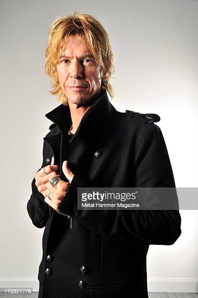 American musician Duff McKagan former bassist of Guns N Roses and current vocalist and guitarist of Loaded photographed during a portrait shoot for...