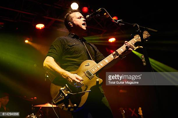 American musician Jason Isbell performing live on stage at the O2 Academy in Bristol on January 20 2016