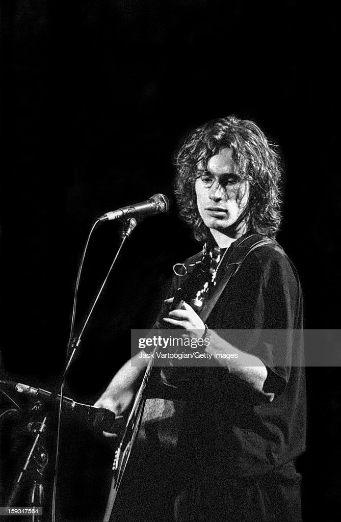 Jeff buckley at arts at st ann pictures getty images american musician jeff buckley 1966 1997 performs during the greetings from tim m4hsunfo