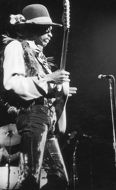 Jimi Hendrix At The Fillmore East Wall Art