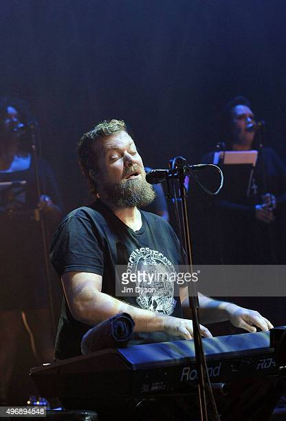 American musician John Grant performs live on stage at Hammersmith Apollo on November 12 2015 in London England