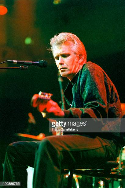 American musician Johnny Dowd performs live on stage at Paradiso in Amsterdam, Netherlands on 25th May 1999.