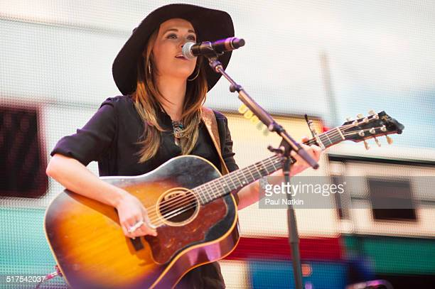 American musician Kacey Musgraves performs onstage at the Saratoga Performing Arts Center Saratoga Springs New York September 21 2013