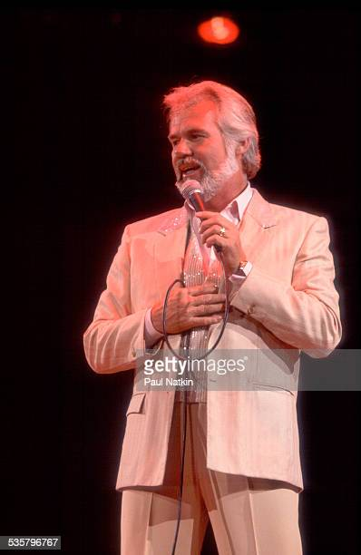 American musician Kenny Rogers performs at the Rosemont Horizon Rosemont Illinois July 10 1981