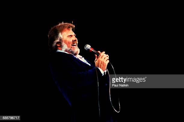 American musician Kenny Rogers performs at the Rosemont Horizon Rosemont Illinois May 17 1980
