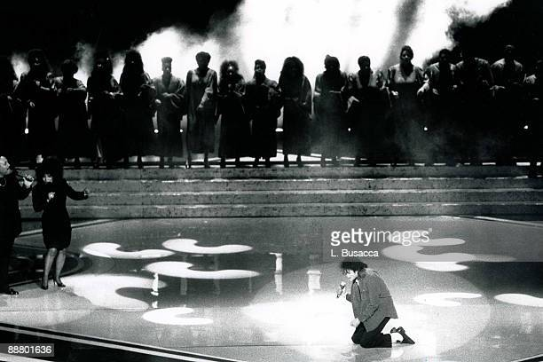 Michael Jackson performs at the GRAMMY Awards on March 2 1988 at Radio City Music Hall in New York City