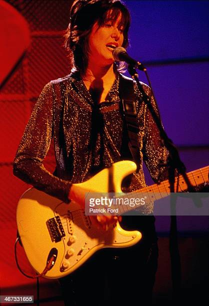 American musician Michelle Shocked on stage 1996