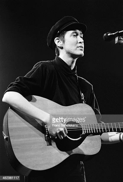 American musician Michelle Shocked performs at the Paradiso in Amsterdam Netherlands on 15th December 1988