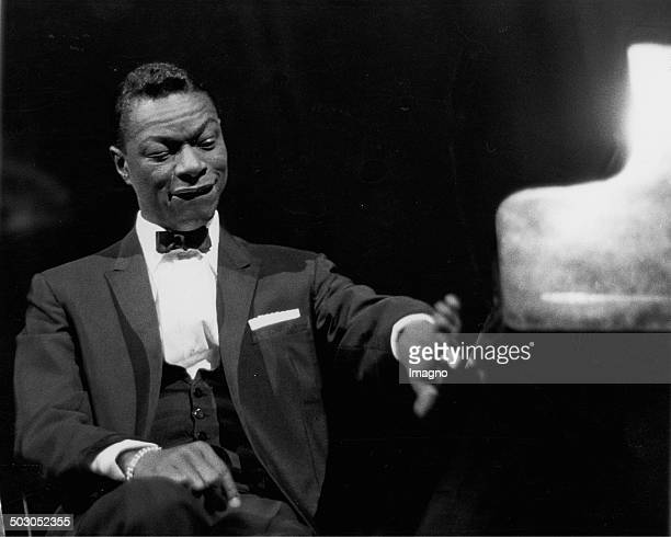 American musician Nat King Cole at a concert Vienna About 1960 Photograph by Franz Hubmann