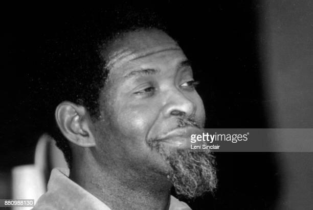American Musician Richard Muhal Abrams in Detroit in 1979
