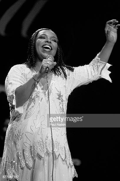 American musician Roberta Flack performs onstage at the Park West Auditorium Chicago Illinois March 30 1981