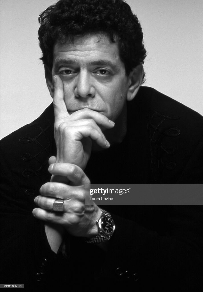 American musician, singer, and songwriter Lou Reed.