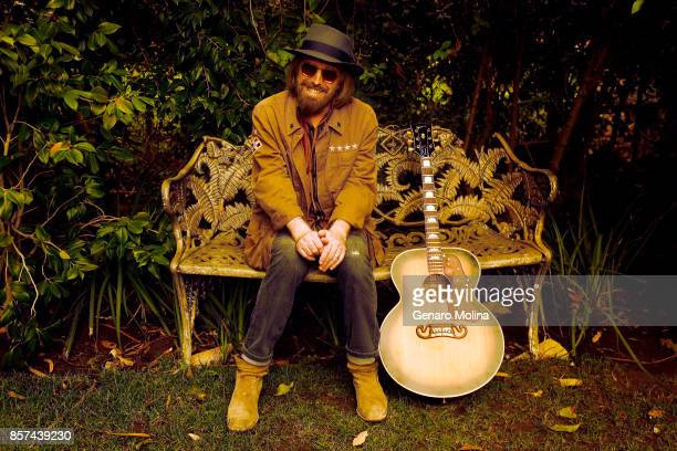 American musician singer and songwriter Tom Petty is photographed in his home for Los Angeles Times on September 27 2017 in Malibu California...