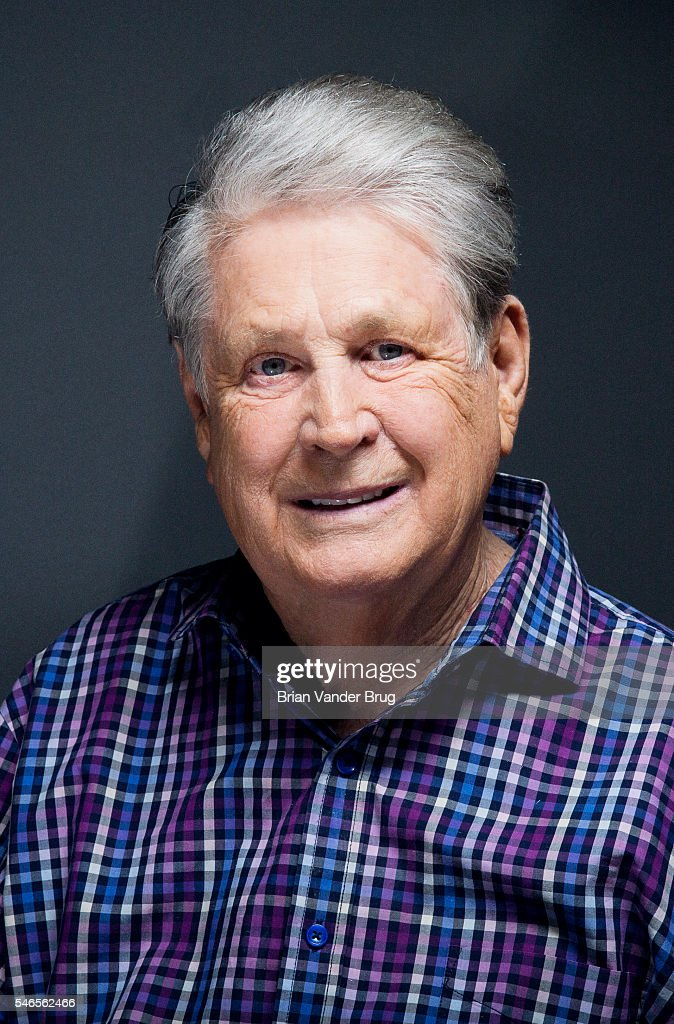 American musician, singer, songwriter, and record producer best known for being the multi-tasking leader and co-founder of the Beach Boys Brian Wilson is photographed for Los Angeles Times on June 29, 2016 in Los Angeles, California. PUBLISHED IMAGE.