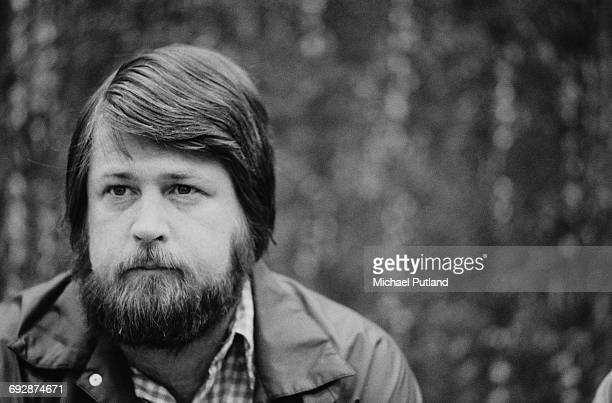 American musician singer songwriter and record producer Brian Wilson of The Beach Boys Oslo Norway 1982