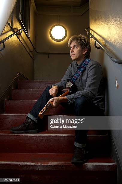 American musician songwriter and vocalist Eric Johnson photographed during a portrait shoot for Guitarist Magazine/Future via Getty Images July 9 2012
