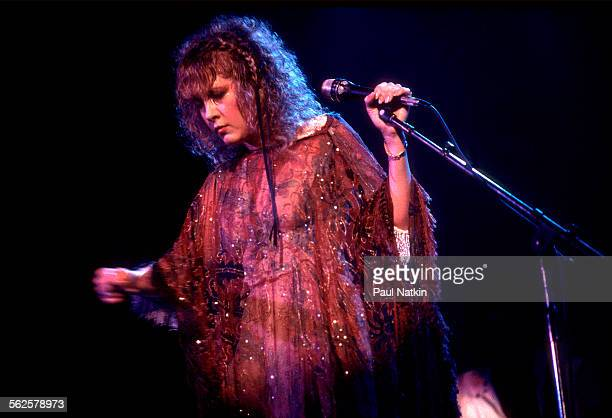 American musician Stevie Nicks performs onstage at the Rosemont Horizon Rosemont Illinois July 18 1983
