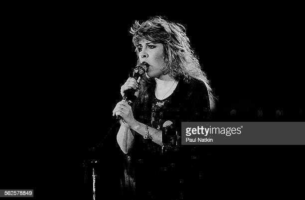 American musician Stevie Nicks performs onstage during the US Festival, Ontario, California, May 30, 1983.