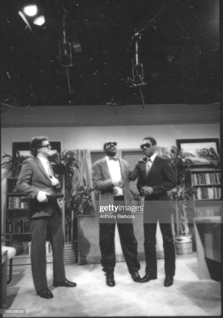 Piscopo, Wonder, & Murphy On SNL : News Photo